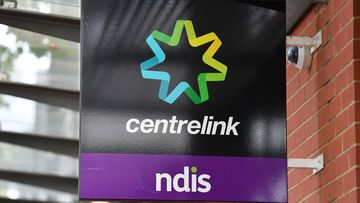 A file photograph of a Centrelink.