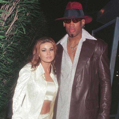 Carmen Electra and Dennis Rodman: Two weeks