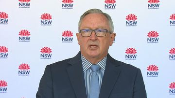 NSW Health Minister Brad Hazzard said there were no local cases of coronavirus in NSW in the past day.