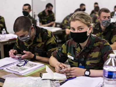 Princess Elisabeth's military training