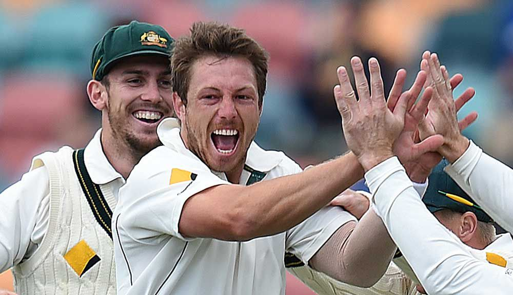 James Pattinson. (AAP)