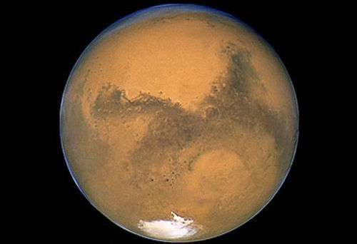 Mars from Hubble telescope (Getty)