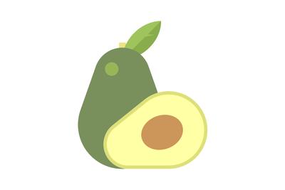 10. Calories in avocado