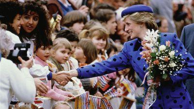 Princess Diana tours Canada, 1986