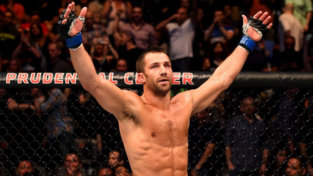 Luke Rockhold.(Getty)