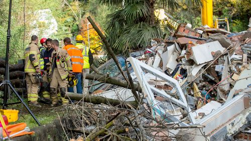 Two women found dead after landslide hits Swiss apartment building