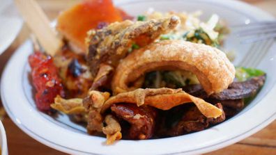Bali warung street food