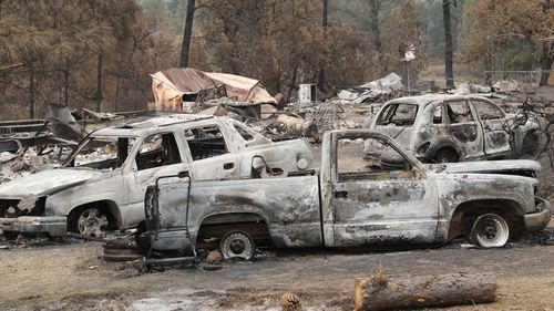 The flames, which had burned 1,217 square km, were raging in mostly remote areas but 116 homes were destroyed.