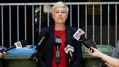 NSW Greens MP Cate Faehrmann