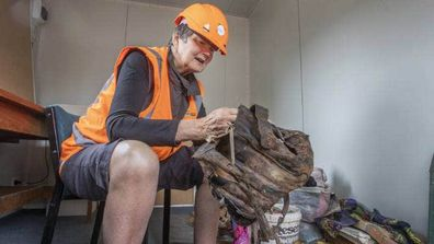 Sue Spigel reunited with handbag found in Christchurch earthquake rubble
