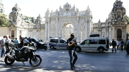 Two arrested after shooting attack on Istanbul palace