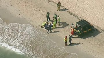 Kite-surfer dies at Melbourne beach