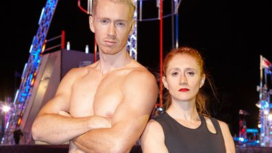 Ben Polson and Olivia Vivian went the furthest fastest in heat 2 on Australian Ninja Warrior 2020.