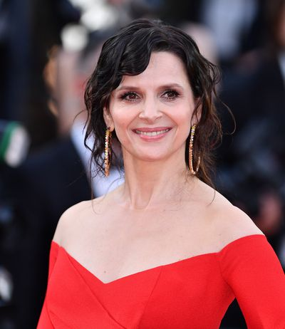 Juliette Binoche, 53, at the premiere of&nbsp;<em>The Killing of a Sacred Deer</em>&nbsp;in Cannes in Balmain.