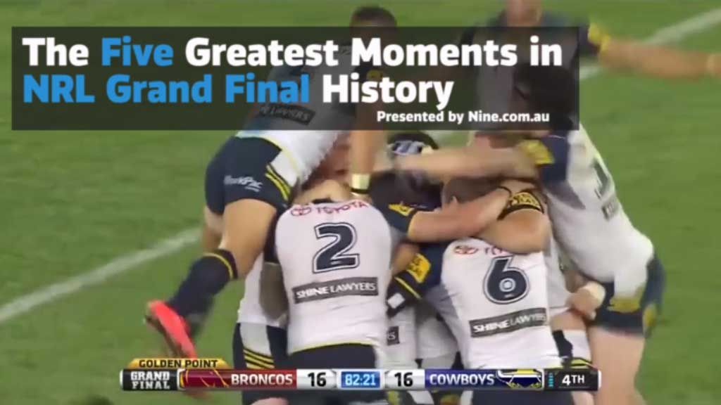 Top five NRL grand final moments