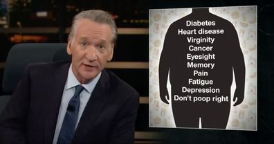 Bill Maher on his show.