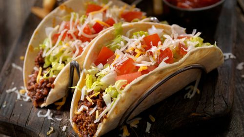 Tacos are a classic mince meat recipe.