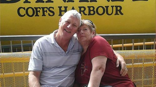 Couple Bill and Margaret Spedding. (9NEWS)