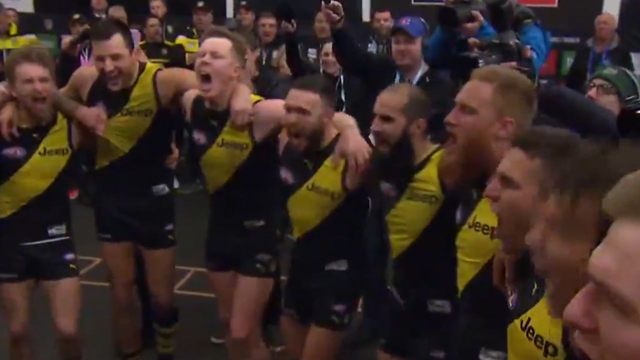 Richmond Tigers team song