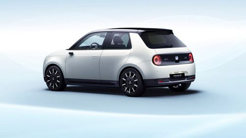 It has slimline cameras in place of wing mirrors
