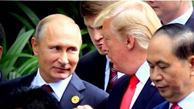 Trump speaks with Putin, says to meet soon