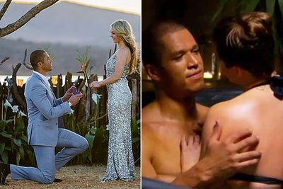 """So Bachelor Blake and Sam are dunzo, despite their big engagement hoo-ha on <i>The Bachelor</i> finale. But, as any reality TV watcher knows, it was all about the journey... right??<br/><br/>From Laurina's #DirtyStreetPie to Jess' slow-blinking come-ons to the final proposal, this year's season has left us with many memories we'll cherish... even if the happy ending didn't last.<br/><br/>Here are the 12 moments that made us happy anyway.<br/><br/>Author: Adam Bub. <b><a target=""""_blank"""" href=""""http://twitter.com/TheAdamBub"""">Follow on Twitter</a></b>."""