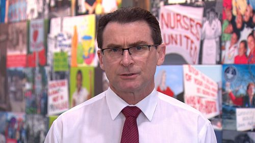 NSW Nurses and Midwives' Association General Secretary Brett Holmes.
