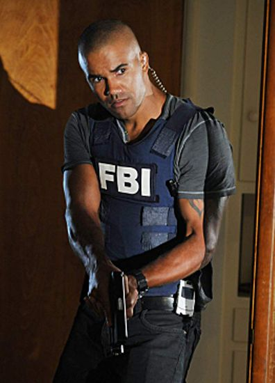 Shemar Moore, Criminal Minds, filming, on set