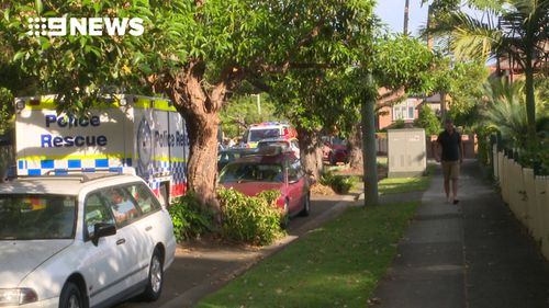 Emergency services responded to reports the boy had hit his head in a backyard pool in Haberfield. (9NEWS)