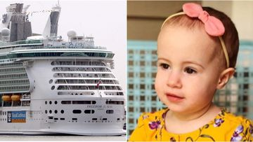 Chloe Wiegand died when she fell from an open window on a Royal Caribbean cruise in Puerto Rico on Sunday.