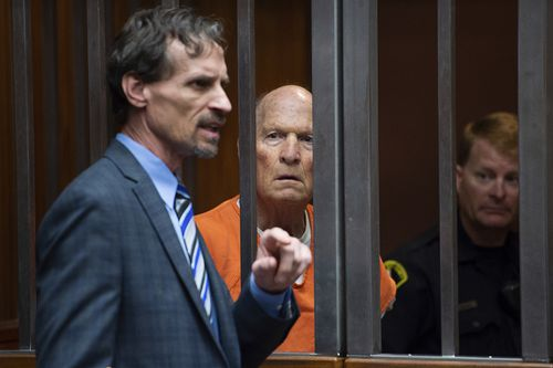 DeAngelo is accused of being the notorious Golden State Killer. Picture: AP