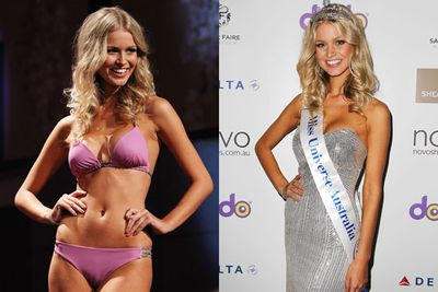 In 2012, Aussie dancer Renae Ayris was crowned Miss Universe Australia winner... before being placed third in the international beauty pageant.
