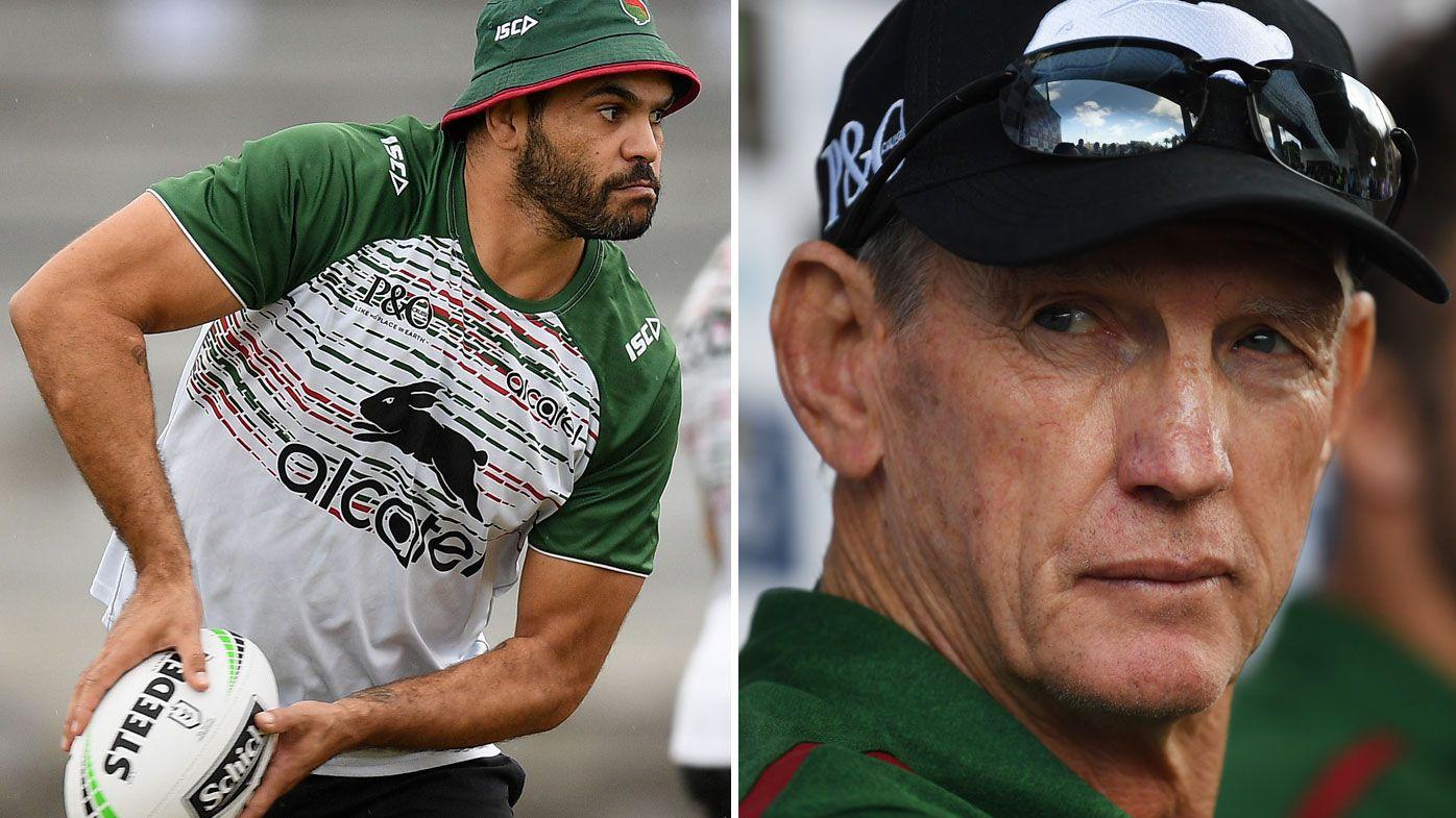 NRL: Rabbitohs coach Wayne Bennett puts foot down over Greg Inglis' long-term health