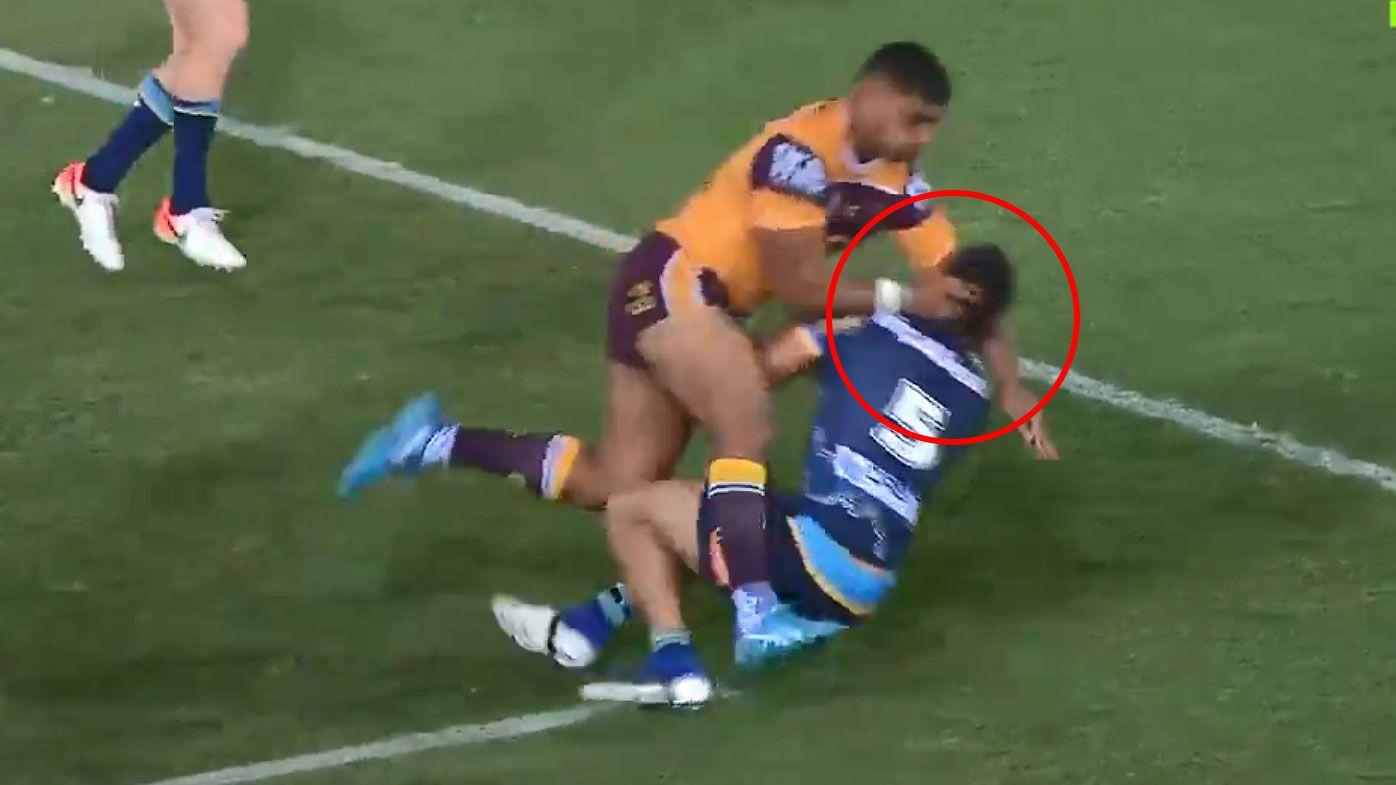 NRL: Tevita Pangai Junior in hot water over Phillip Sami hit