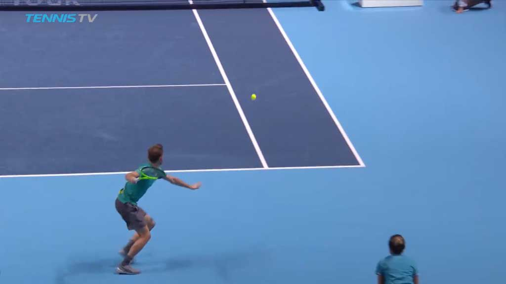 Goffin upsets Nadal