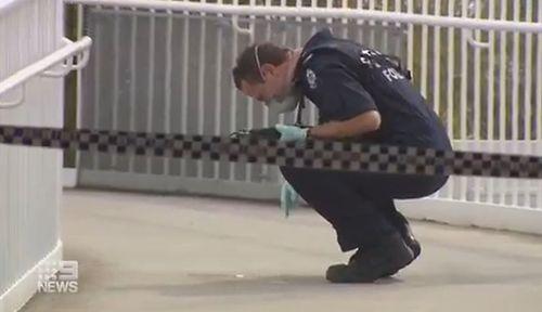 Perth train station hammer attack