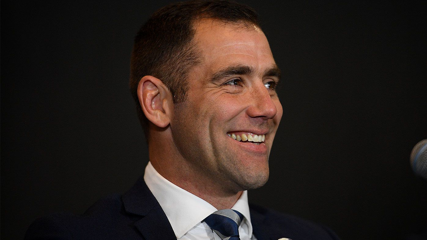 Cameron Smith signs two-year deal with Melbourne Storm