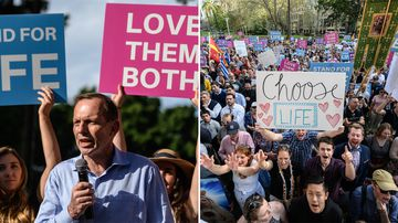 Thousands flood Hyde Park for anti-abortion rally