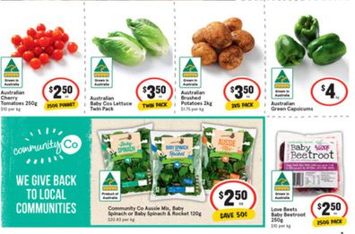 At IGA this week you'll find some incredible specials on vegetables and salads.