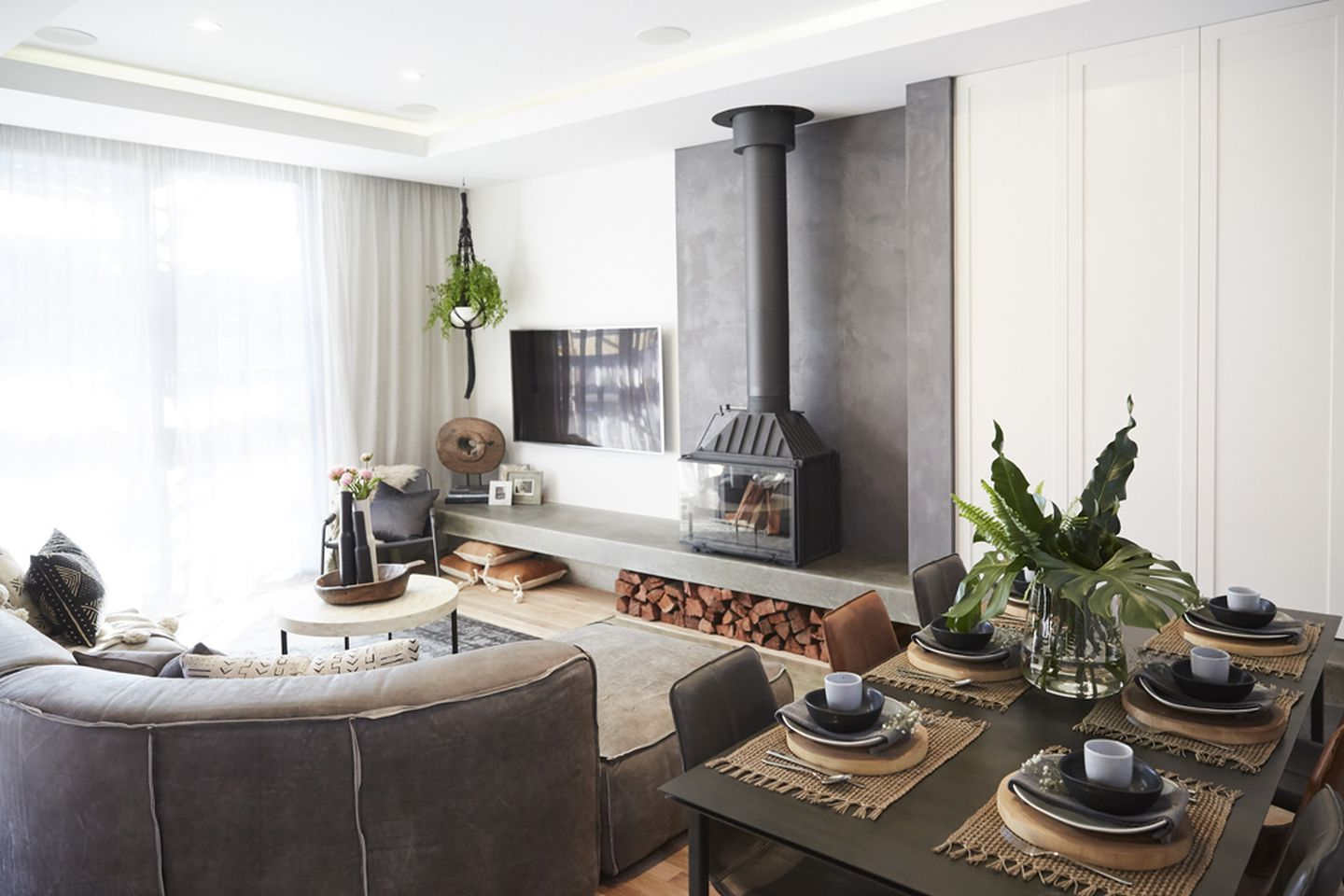 The Block room reveals: Living and dining - 9homes