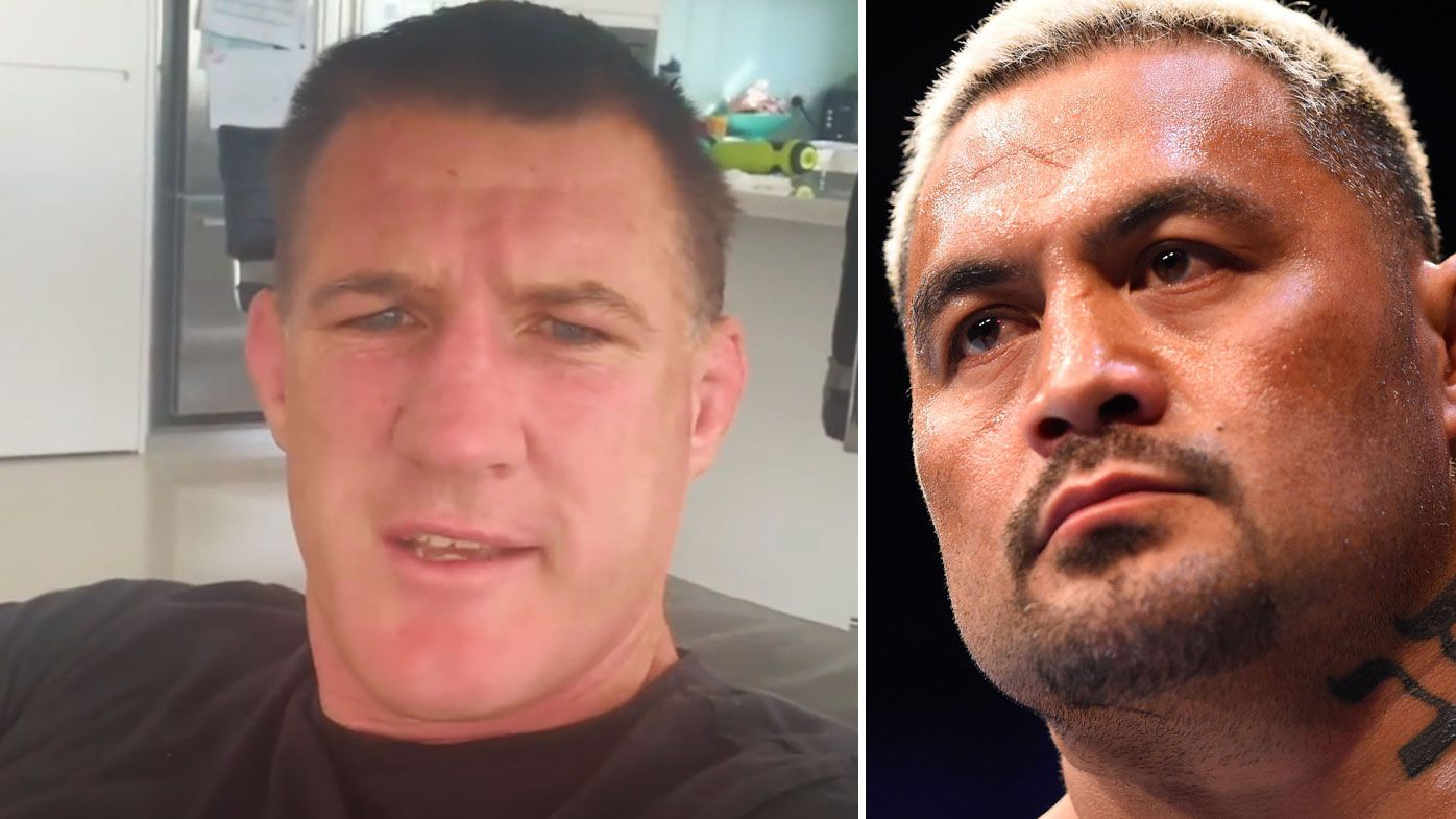 Paul Gallen has told fight fans to wake up to the coronavirus pandemic. (Instagram)