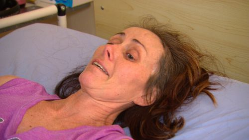 Kelli O'Brien has been able to return home after months of trying to get funding from the NDIS.