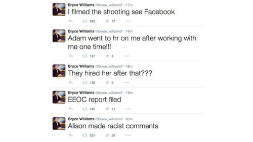 An account linked to the gunman posted a series of Tweets in the wake of the shooting. (Twitter)