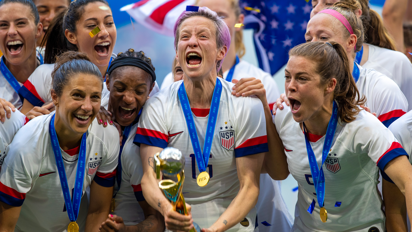 Megan Rapinoe wins World CUp