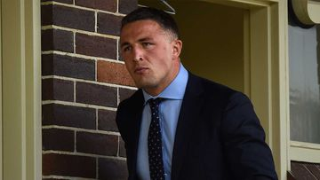 Sam Burgess at Moss Vale Court last year.