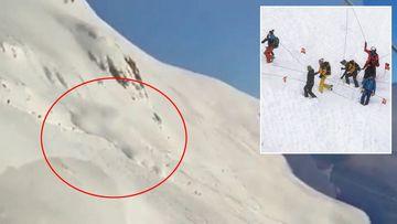 Swiss avalanche