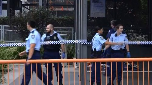 Emergency services were called to Hurstville Railway Station about 6am. (9NEWS)