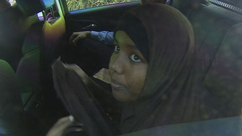 Zainab Abdirahaman-Khalif is accused of being a member of ISIS. Picture: 9NEWS