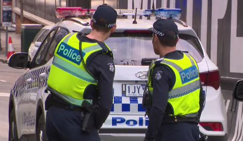 The exact circumstances surrounding the incident are yet to be determined but it is being treated as suspicious. Picture: 9NEWS