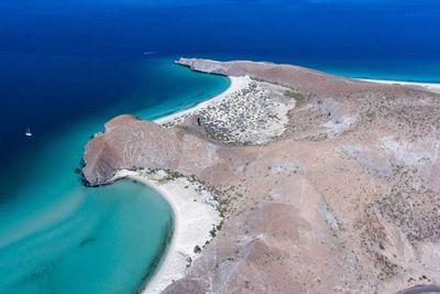 17. Balandra Beach in Baja California Sur, Mexico